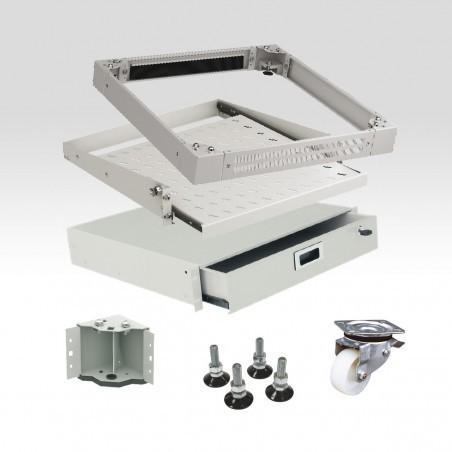Wyposażenie dodatkowe szaf i stojaków teleinformatycznych